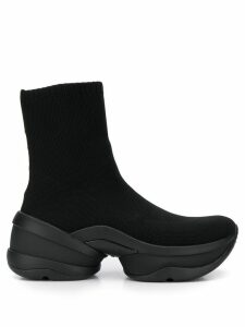 Michael Michael Kors Olympia Stretch Knit Sock sneakers - Black