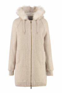 Brunello Cucinelli Layered Long Cardigan