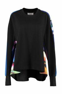 Maison Margiela Printed Crew-neck Sweatshirt