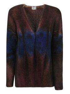 f cashmere Color Fade Cardigan