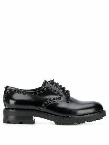Ash Wild lace-up shoes - Black