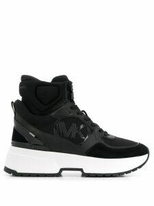 Michael Michael Kors logo high-top sneakers - Black