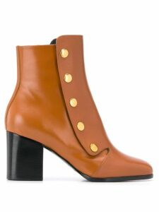Mulberry Marylebone 70 smooth boots - Brown