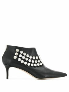 Christopher Kane giant crystal ankle boot - Black