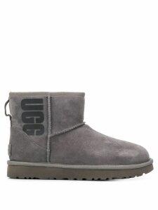 Ugg Australia logo print mini boots - Grey