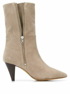 IRO pointed toe boots - NEUTRALS