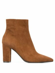 The Seller suede ankle boots - Brown