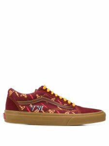Vans x Vivienne Westwood Old Skool thunderbolt-print sneakers - Red