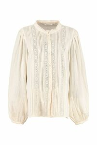 Mes Demoiselles Morgan Long Sleeve Cotton Shirt