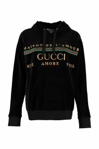 Gucci Chenille Logo Sweatshirt