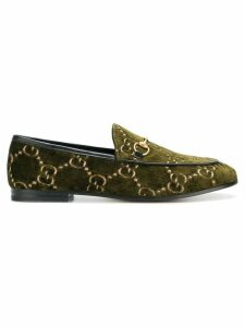 Gucci Gucci Jordaan GG loafers - Green