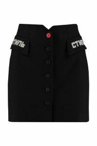 HERON PRESTON Tailored Mini Skirt