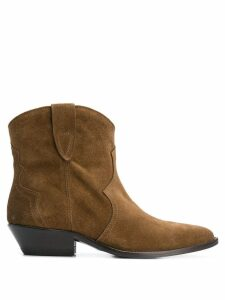 The Seller pointed toe ankle boots - Brown