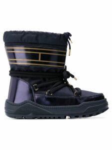 Tommy Hilfiger PVC trim snow boots - Blue