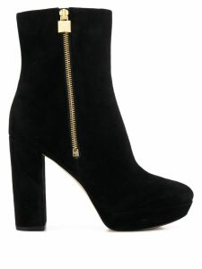 Michael Michael Kors high-heeled ankle boots - Black