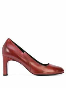 Alberto Fermani slip-on pumps - Red