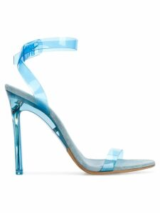 Yeezy Season 7 PVC ankle strap sandals - Blue