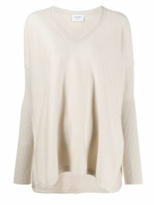 Snobby Sheep Lurex V Neck Sweater