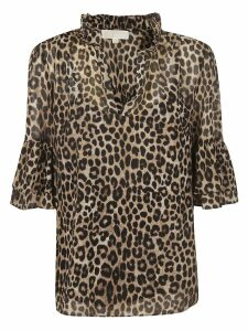 Michael Kors Animal Print Shirt