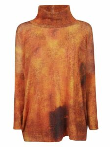 Printed Artworks Turtleneck Jumper