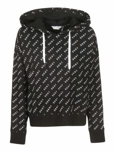 DKNY All Over Logo Print Hoodie