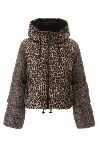 MICHAEL Michael Kors Animalier Puffer Jacket