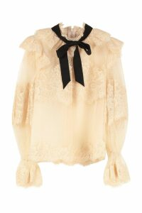 Zimmermann Espionage Lace Blouse