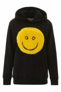 Kirin Hoodie With Faux Fur Smile