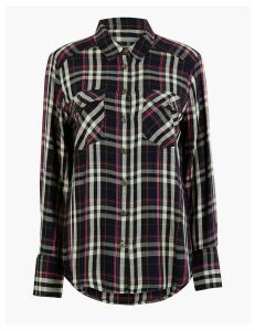 M&S Collection Checked Shirt