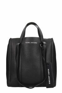 Marc Jacobs The Tag Tote 27 Tote In Black Leather