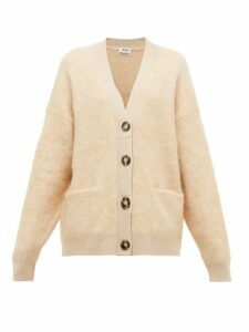 Acne Studios - Rives Buttoned Cardigan - Womens - Beige