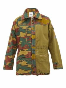 Myar - Camouflage-print Cotton-blend Jacket - Womens - Camouflage