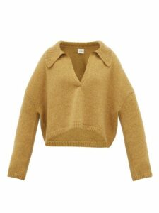 Khaite - Shelley Oversized Cashmere Sweater - Womens - Beige