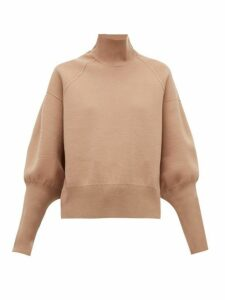Acne Studios - Kelenor Balloon-sleeve Sweater - Womens - Camel