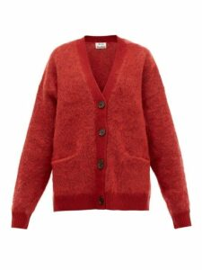 Acne Studios - Rives Buttoned Cardigan - Womens - Burgundy