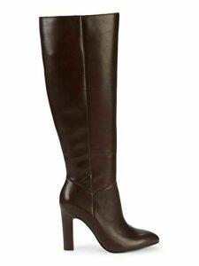 Kortnee Leather Knee-High Boots