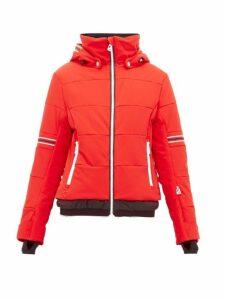 Toni Sailer - Antonia Striped Soft-shell Ski Jacket - Womens - Red