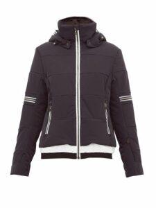 Toni Sailer - Antonia Striped Soft-shell Ski Jacket - Womens - Black