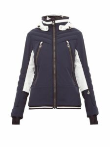 Toni Sailer - Cosima Colour-block Soft-shell Ski Jacket - Womens - Navy