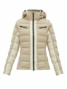 Capranea - Vanta Down-filled Quilted Ski Jacket - Womens - Beige