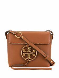 Tory Burch Miller metal-logo crossbody bag - Brown