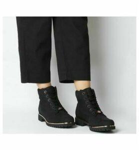 Timberland Slim Premium 6 Inch Boot BLACK ROSE GOLD