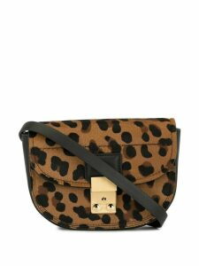 3.1 Phillip Lim Leopard Pashli Mini Belt Bag - Brown