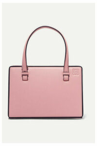 Loewe - Postal Small Leather Tote - Pink