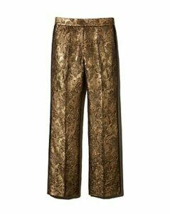 Sandro Goldy Brocade Cropped Pants