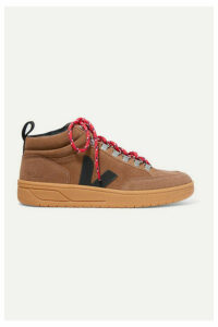 Veja - + Net Sustain Roraima Suede And Leather High-top Sneakers - Brown