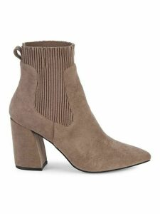 Newell Point-Toe Sock Booties