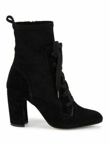 Hacken Suede Lace-Up Booties