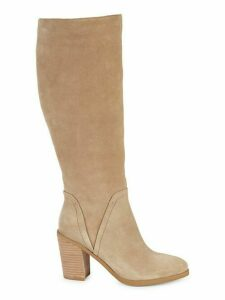 Chester Knee-High Suede Boots