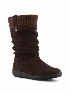Vienna Waterproof Suede Mid-Calf Boots